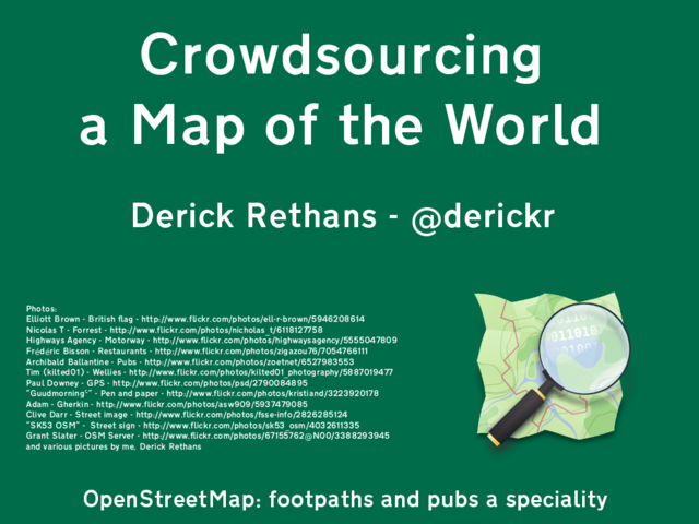 Derick Rethans - tag: openstreetmap
